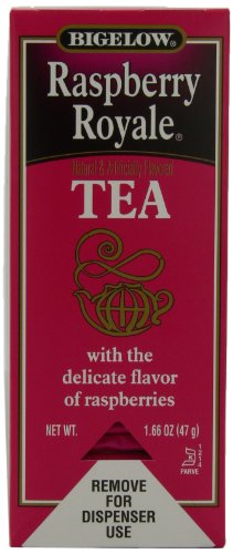 Bigelow Raspberry Royale Tea, 28 Count Tea Bags (Pack Of 6) front-84868