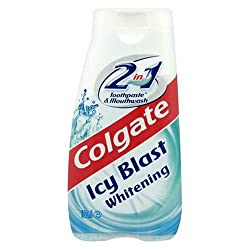 Colgate Icy Blast Whitening 2 in 1 Toothpaste & Mouthwash 100 mL
