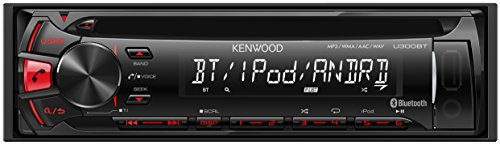 KENWOOD MP3/WMA/AAC/WAV対応CD/USB/BTレシーバー U300BT