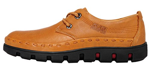 Guciheaven Mens 2015 New British Style Low Top Lace-up Casual Shoes