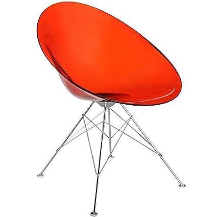 Kartell Ero/s Armchair - Transparent Orange