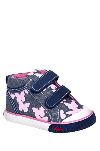 Kid's Katie Chambray Butterfly High-Top Sneaker