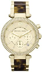Michael Kors Women's Mk5688 Madison Chronograph gold tone. by Michael Kors Watches