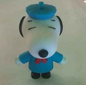 Euroge Tech 8GB Snoopy USB Flash Drive Memory Stick Blue