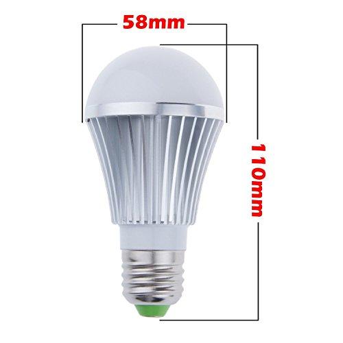 Energy Saving 5 Watts Led A19 Globe Bulb E27 Screw Base Smd5630 Light Flood Lamp Warm White Lighting