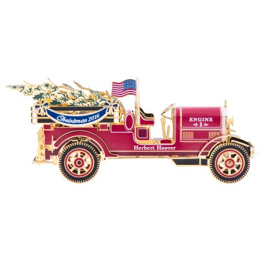 2016 Official White House Christmas Ornament - Herbert Hoover (White House Historical compare prices)