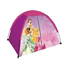 Disney Princess 4ftx3ft T-door Tent with Floor Princess D-T0403FLPR2A