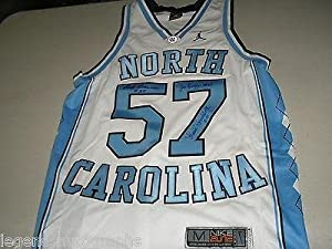 1957 3X Team Signed Nike Elite UNC North Carolina Basketball JERSEY Auto RARE M -... by Sports+Memorabilia