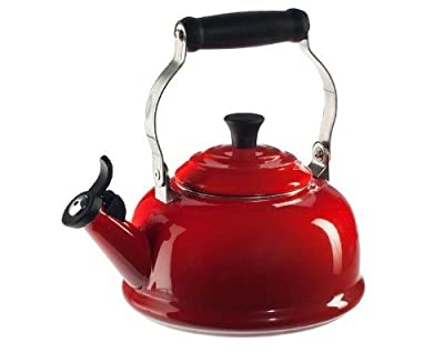 Le Creuset of America Le Creuset Enamel-on-Steel Whistling 1-4/5-Quart Teakettle