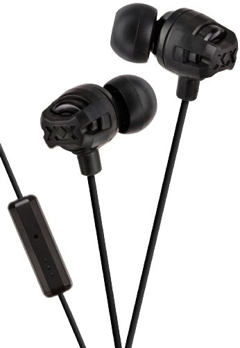 Jvc Xtreme Xplosives Headphones With Remote And Mic - Black