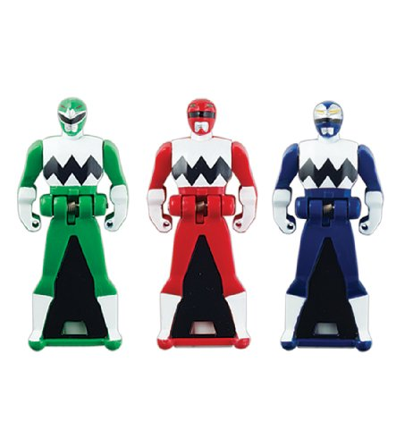 Power Rangers Super Megaforce - Lost Galaxy Legendary Ranger Key Pack, Red/Blue/Green (All Red Ranger Keys compare prices)