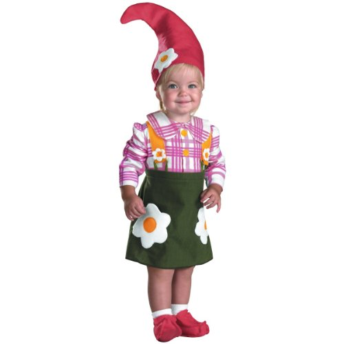 Flower Garden Gnome Costume - Toddler Small