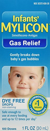 Mylicon Infant Drops Anti-Gas Relief Dye Free formula, 1.0 Fluid Ounce (Infant Gas Relief Drops compare prices)
