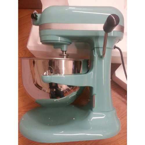 Kitchenaid 600 STAND MIXER 6 Quart KP26M1XAQ Martha Stewart Aqua Sky Color  Tiffany Blue 6 Quart Super Capacity Big Large.