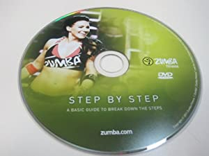 Zumba Fitness Step by Step DVD from the Exhilarate DVD set from Zumba Fitness