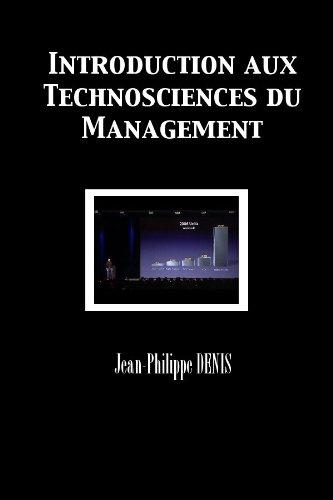 Couverture du livre Introduction aux Technosciences du Management
