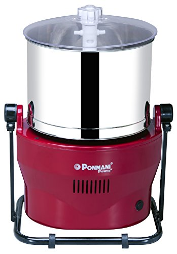Ponmani Power Plus 3L Table Top Wet Grinder
