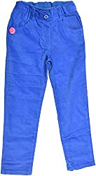 Little Kangaroos Baby Girls' Relaxed Jeans (HF7, Blue)