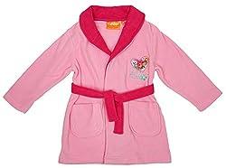 Girls Paw Patrol Puppy Dog Skye Fleece Dressing Gown Bathrobe sizes from 3 to 6 Years