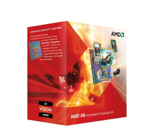 AMD A8-Series APUs A8-3850 TDP 100W 2.9GHz×4 AD3850WNGXBOX