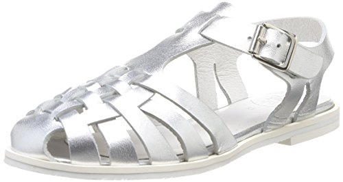 Yep by Jonak - Bernice, sandali per bambine e ragazze, argento(argent), 37
