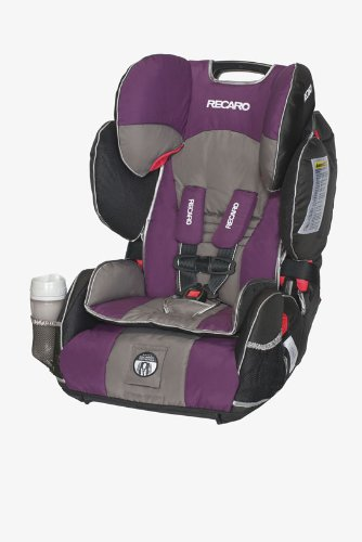 Recaro Performance Sport Combination Harness To Booster Car Seat, Plum