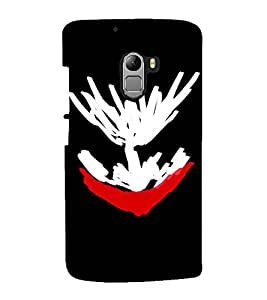 printtech Joker Sketch Design Back Case Cover for Lenovo Vibe K4 Note