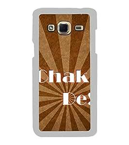 Chak De 2D Hard Polycarbonate Designer Back Case Cover for Samsung Galaxy J3 2016 :: Samsung Galaxy J3 2016 Duos :: Samsung Galaxy J3 2016 J320F J320A J320P J3109 J320M J320Y