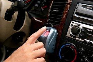 ローバー . アルファロメオ 自動車指紋認証 盗難防止システム