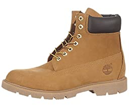 Timberland Men\'s Wheat Nubuck 6 inch Basic Boot 11 D(M) US