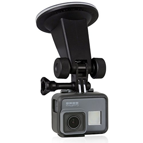 Wicked-Chili-Saugnapf-Halterung-fr-GoPro-Hero-5-4-3-Activeon-A-Rival-DBPOWER-Garmin-QUMOX-Rollei-TomTom-Action-Cam-fr-ebene-Flchen-neigbar-vibrationsfrei-Made-in-Germany