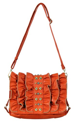Candice Orange Messenger Bag LA 54826