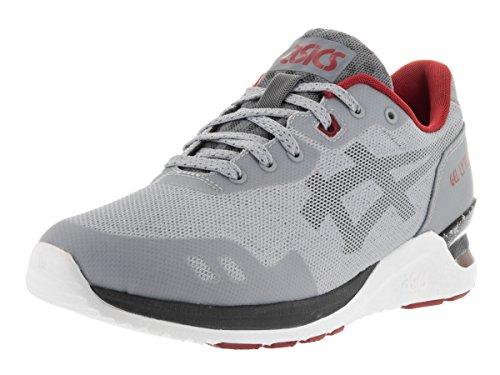 Asics Men's GEL-Lyte Evo NT Retro Light Grey/Black Running Shoe - 10.5 M US