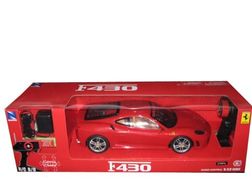 Best Price REMOTE CONTROL FERRARI F430 COUPE RED R/C CAR 1/12