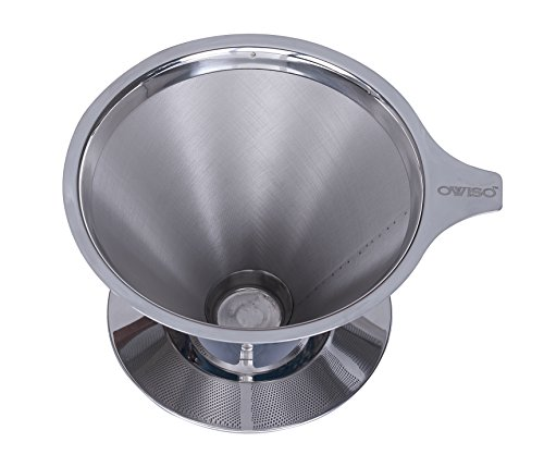 Fishlander > Boat GPS > Ovviso Stainless Steel Reusable Coffee Filter - Paperless Pour Over ...