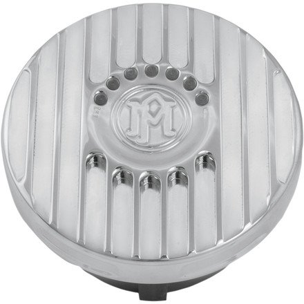 07-14 HARLEY FXDB3: Performance Machine LED Gas Cap - Grill