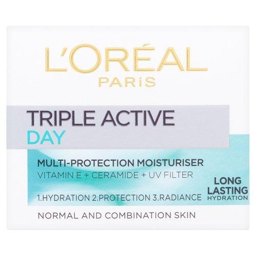 L'Oréal Paris Triple Active Day Multi-Protection Moisturiser 50ml
