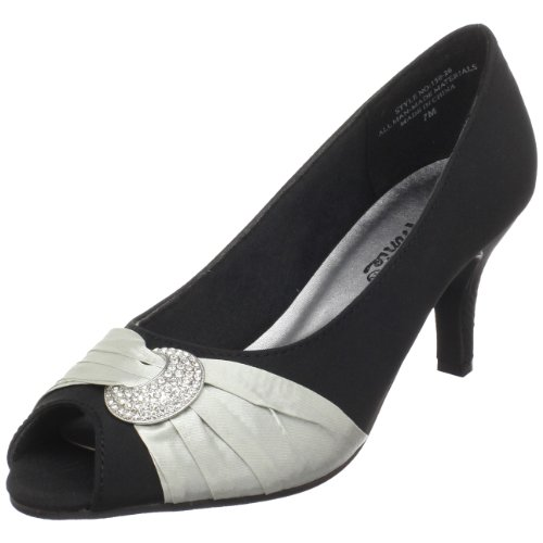 Annie Shoes Women's Madora Open-Toe Pump,