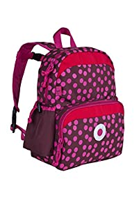 Lässig Kinder-Rucksack  4kids Mini Backpack Rot (Dottie Red) LMBP1119