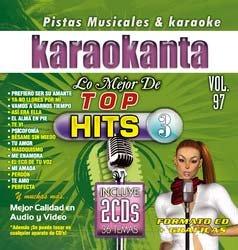 Karaokanta KAR-7097 - Lo Mejor de Top Hits - 3 Spanish CDG