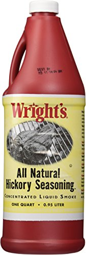 Wright's All Natural Hickory Seasoning, Liquid Smoke - 1 Quart (All Natural Liquid Smoke compare prices)