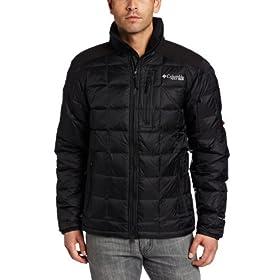 (疯抢) 哥伦比亚Columbia Men's Belay Down Jacket男士550蓬羽绒服黑色$89