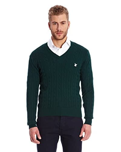 Polo Club Pullover [Verde Scuro]