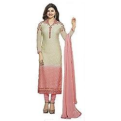 Hetal's Boutique Women's Brasso fabric salwar suit