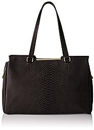 Vince Camuto Belle Satchel Shoulder Bag, Black, One Size