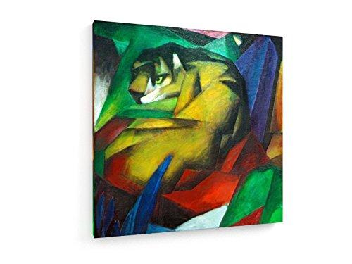 franz-marc-el-tigre-1912-60x60-cm-weewado-impresiones-sobre-lienzo-muro-de-arte