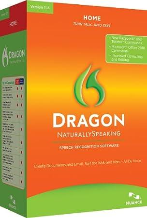 Dragon NaturallySpeaking Home 11.5 (PC)