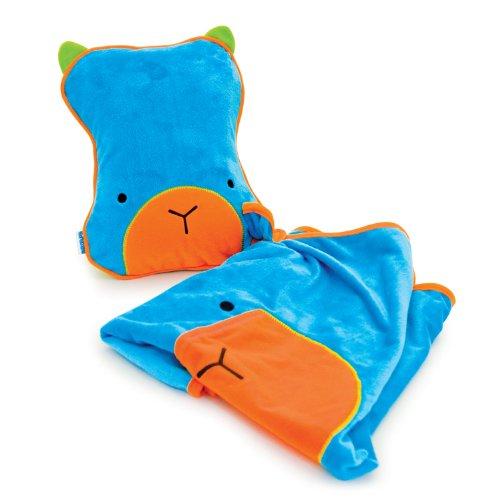 Trunki SnooziHedz Travel Pillow and Blanket (Blue)
