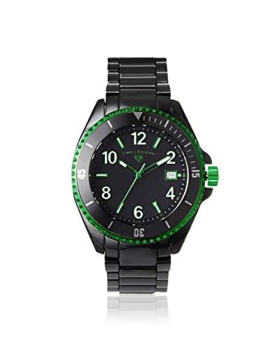 Swiss Legend Men's 11528-BKBGRA Luminar Black/Green Ceramic Watch