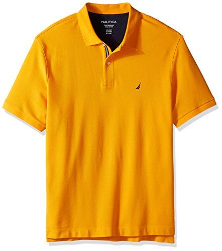 Nautica men 39 s big and tall classic short sleeve solid polo for Mens 5x polo shirts